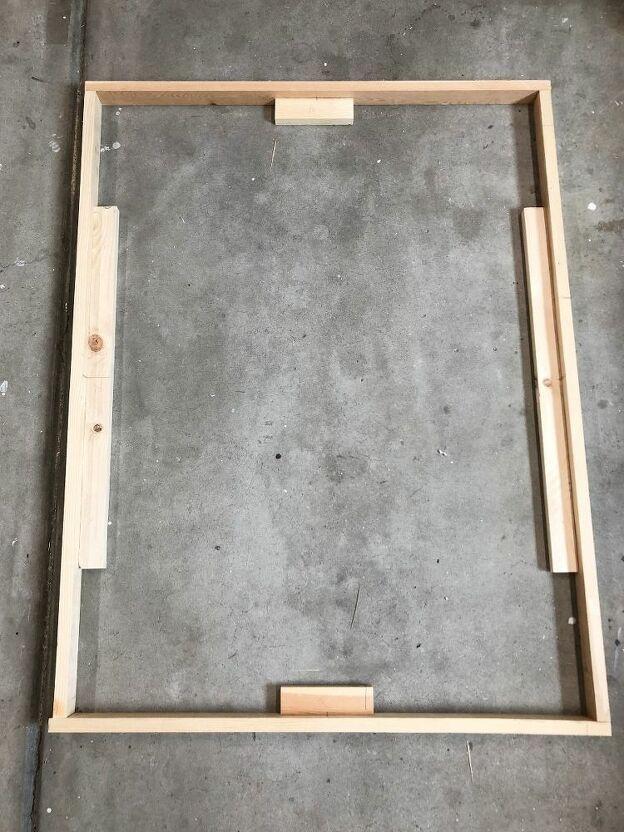 Cómo hacer un marco de lona de madera fácil de $ 3 #selbstgemachteleinwandkunst