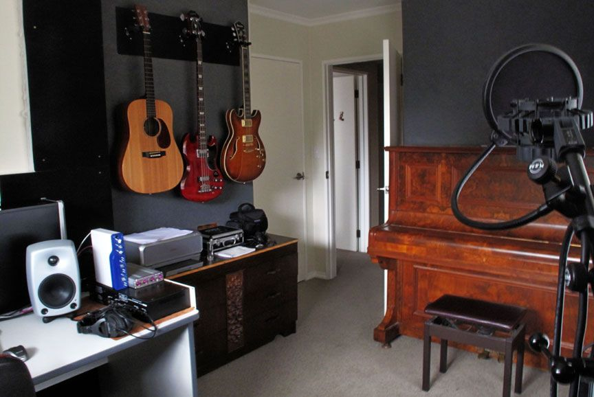 Music Room In Small Space Music Room Design Music Studio Room Small Rooms