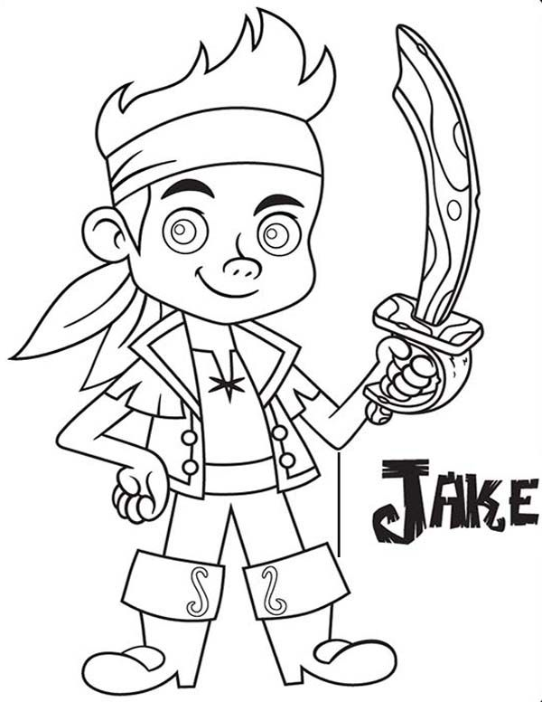 Jake and the Neverland Pirates, : Jake with His Wooden Sword from ...