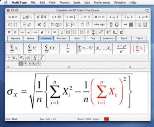 mathtype 6.9 gratuit avec crack