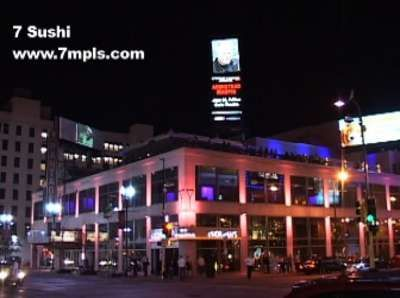 Seven In Minneapolis Great Ultra Lounge And Sushi Bar Rooftop