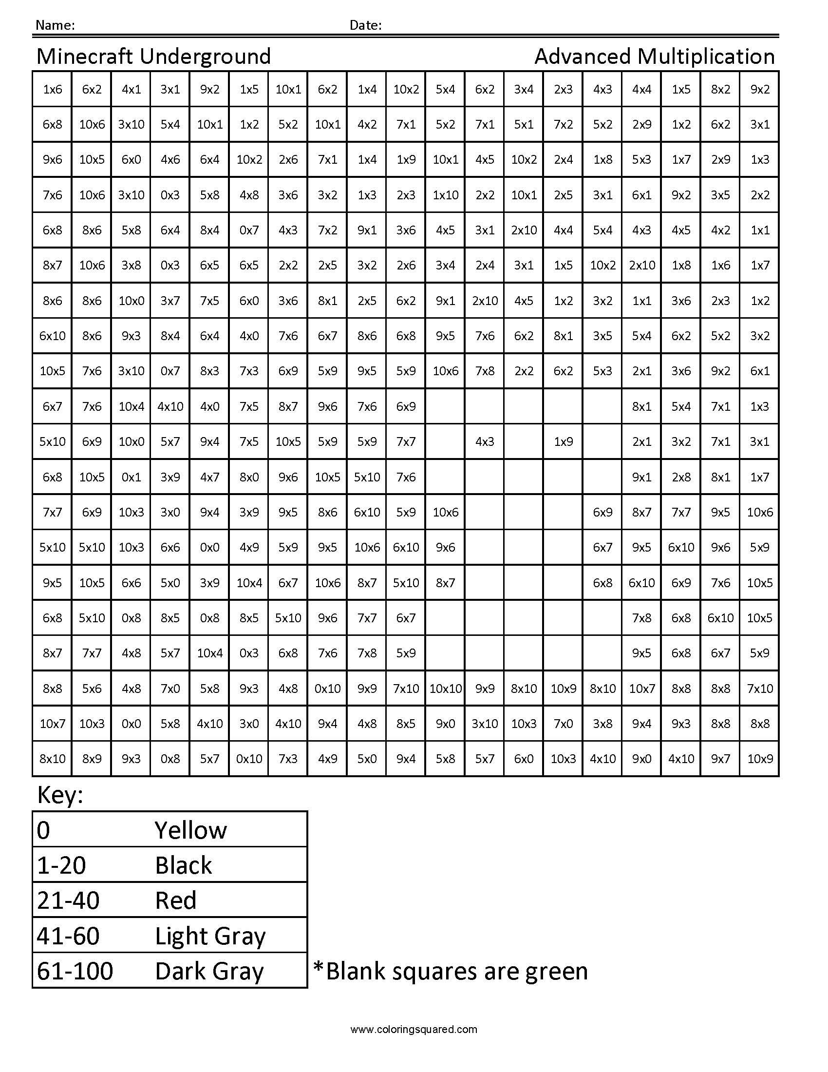 S S Worksheet
