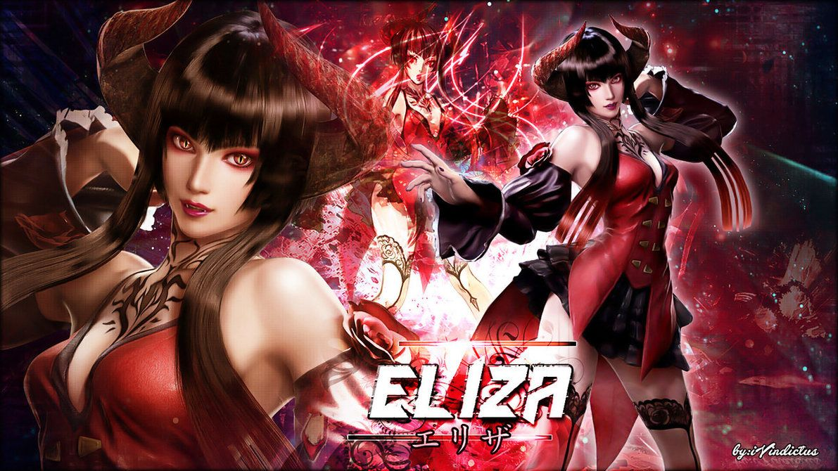 Eliza Tekken  Wallpaper By Ivindictus Wallpaper Wonder Woman