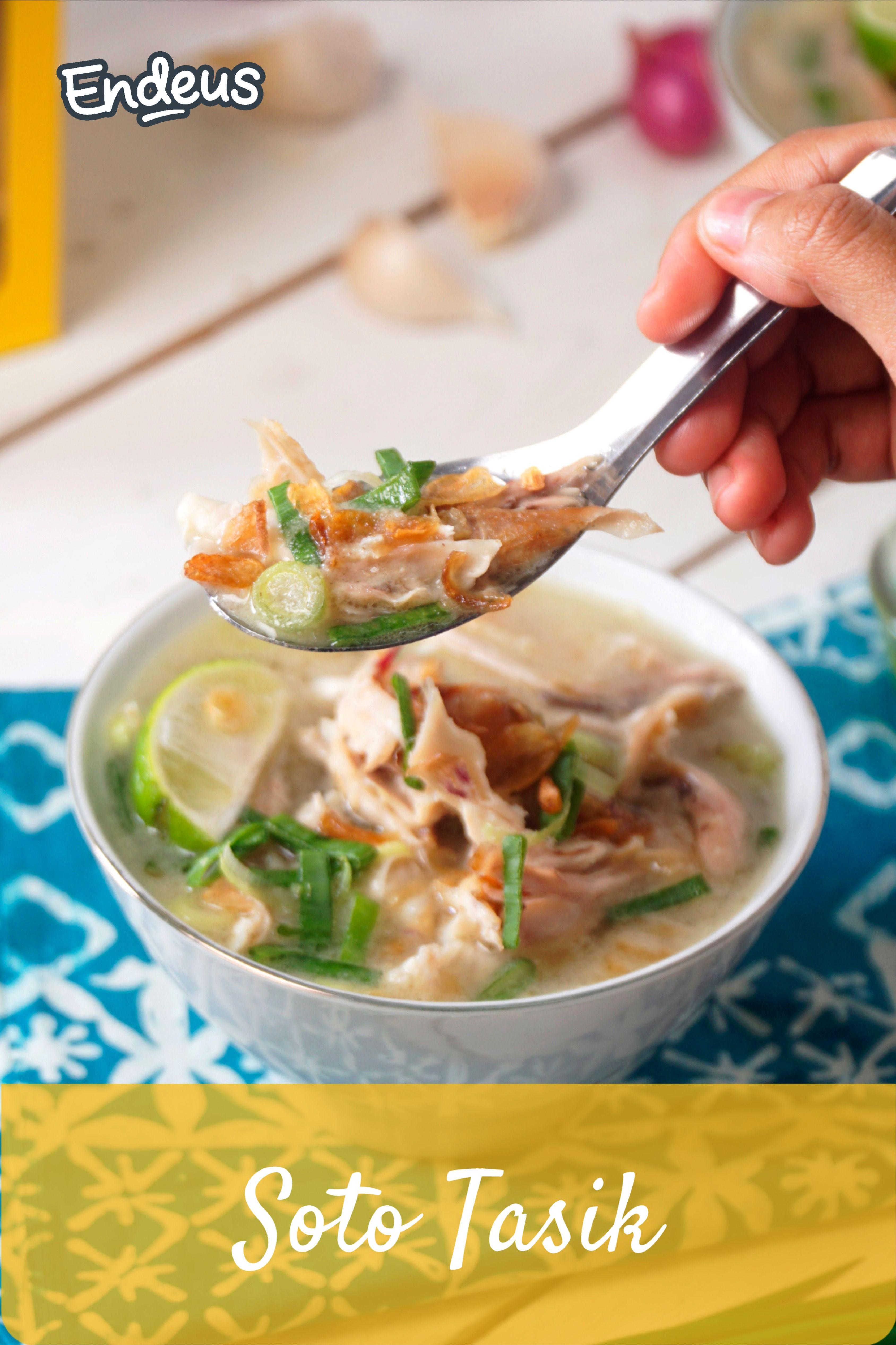 Resep Soto Tasik Resep Resep Resep Ayam Ayam