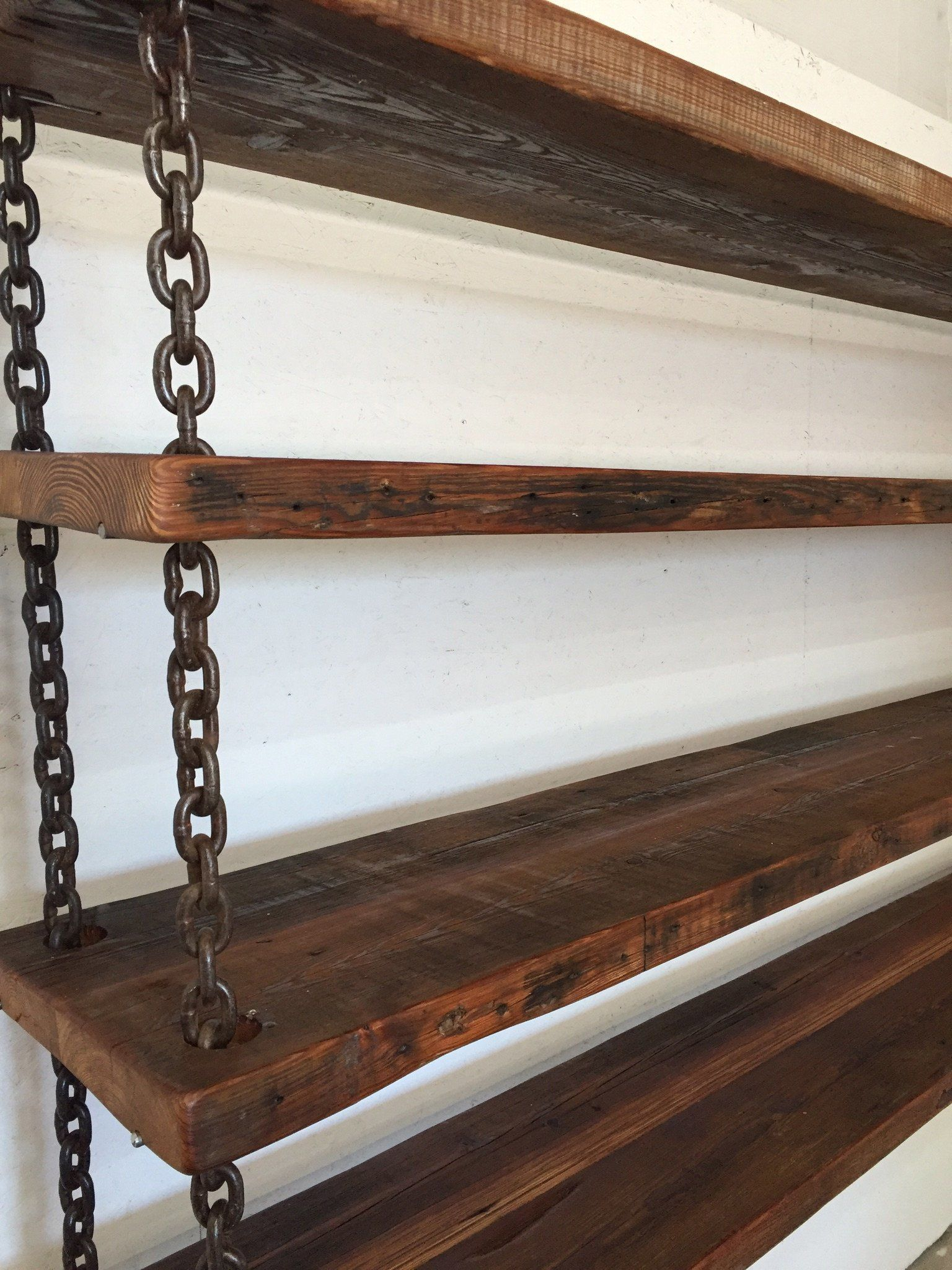 Industrial Pipe & Rope Shelf, 23
