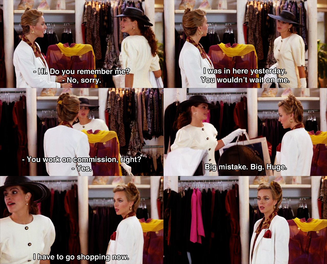 Pin By Amusementphile On Entertainment Pretty Woman Movie Favorite Movie Quotes Best Movie Quotes