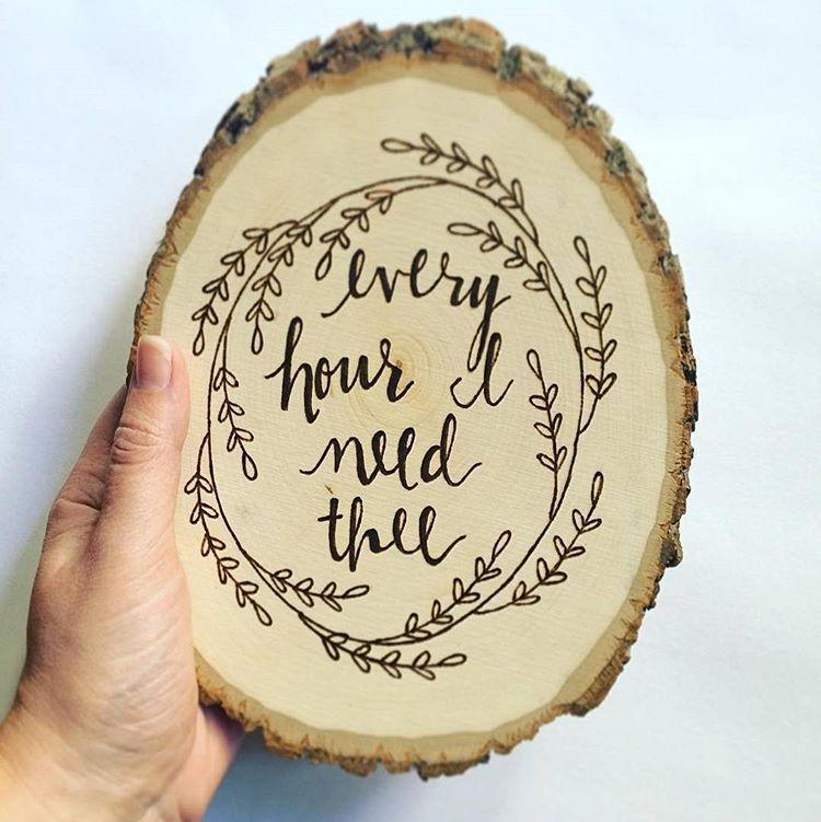 Walnut Hollow On Instagram Love This Simple Wood Burning Piece Walnuthollowwednesday E V E R Y H Wood Burning Art Wood Burning Crafts Wood Slice Art