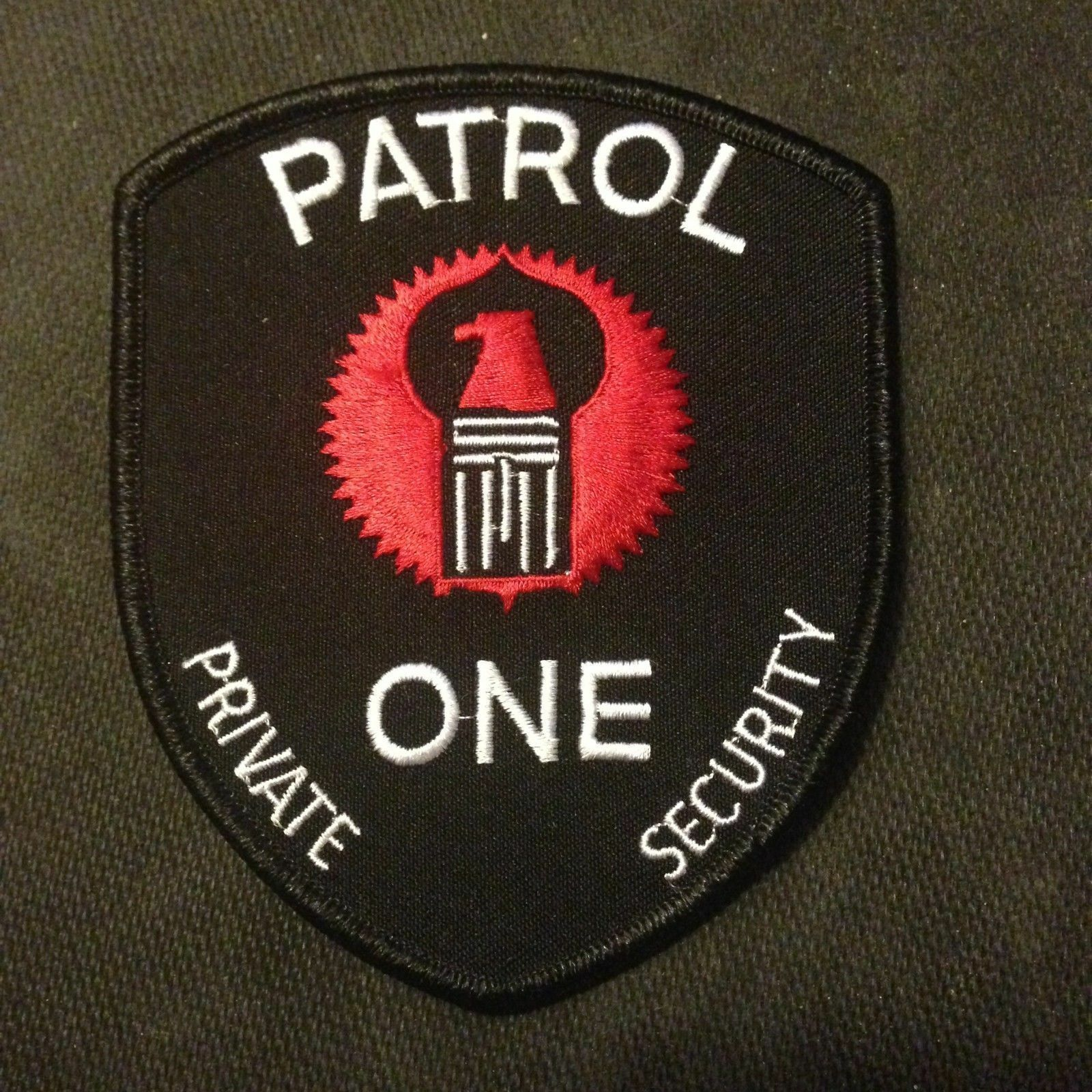 Patrol One Security Company Patch Security patches