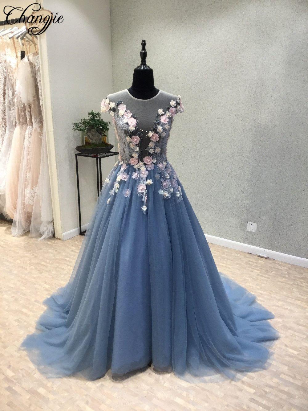 prom dresses long blue prom dresses hand flowers prom dresses