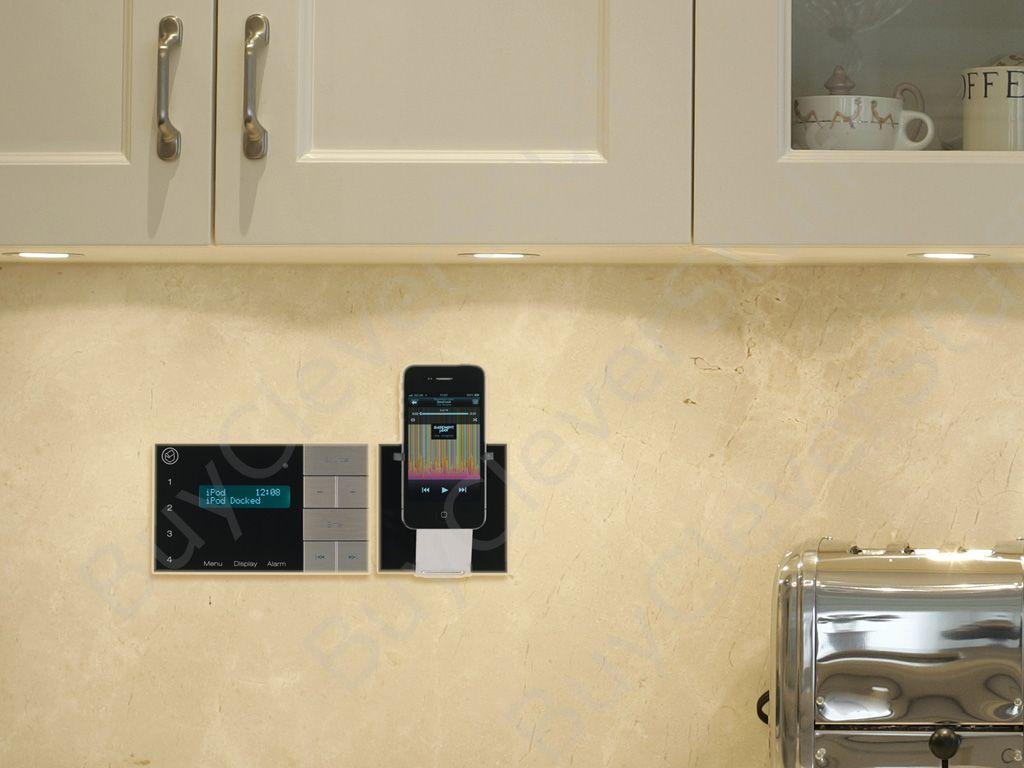 In wall bathroom speakers - Systemline E100 Bluetooth Fm Dab Radio System 6 5 Qi65cb Ceiling Speakers