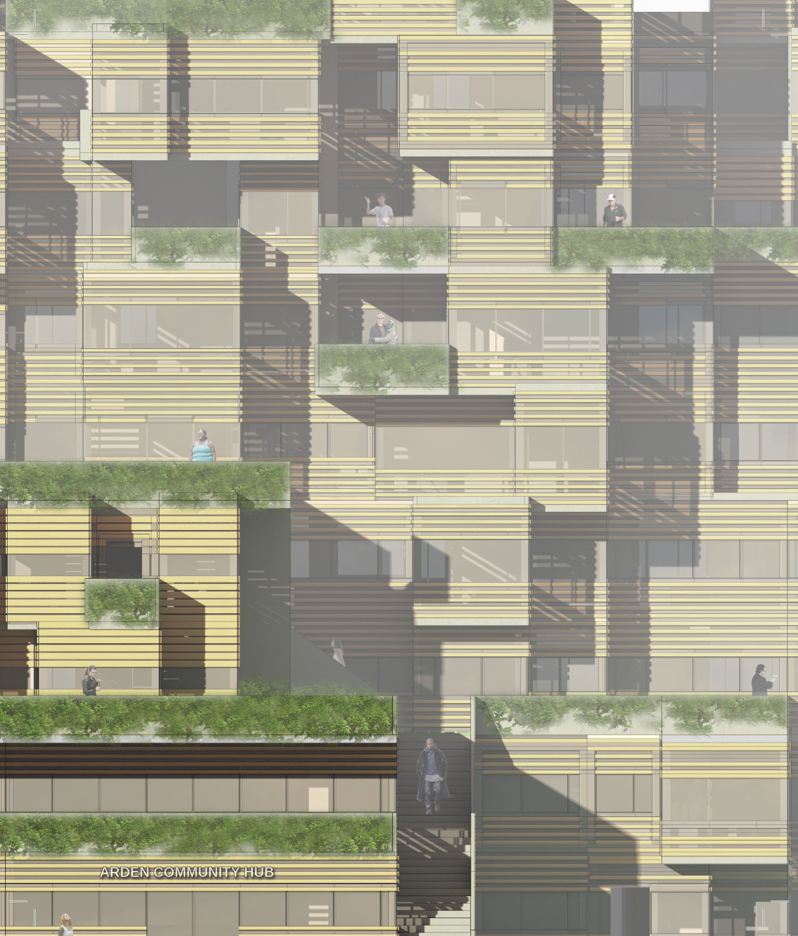 MSD M.Arch S2/16 - Jonathan Russell. Independent Thesis - Your Highrise Home: Arden. Supervisor: Justyna Karakiewicz.