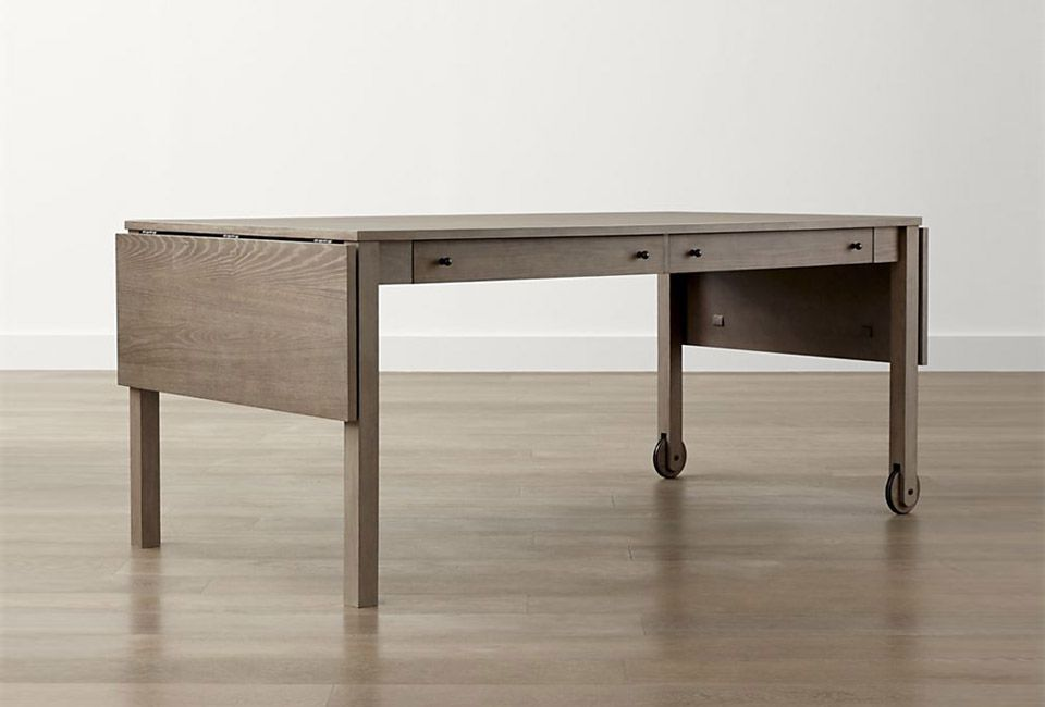 10 Easy Pieces Dining Tables On Wheels Grey Dining Tables