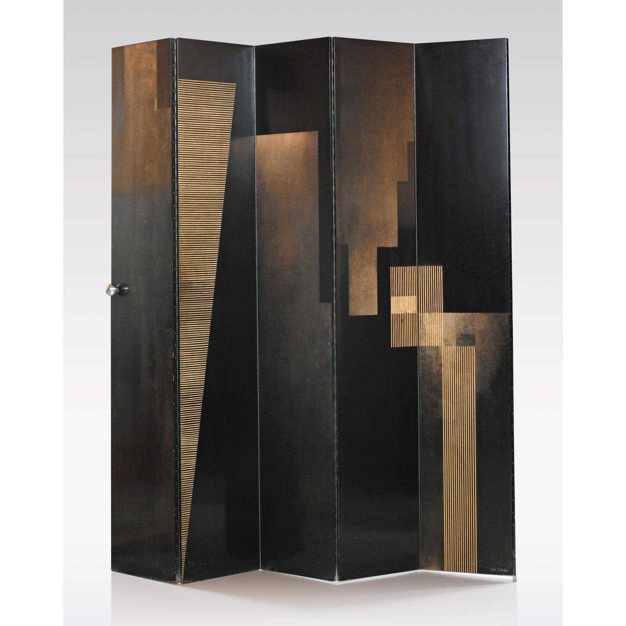 jean dunand 1877 1942 et robert mallet stevens 1886 1945 double porte accord on 39 contraste. Black Bedroom Furniture Sets. Home Design Ideas
