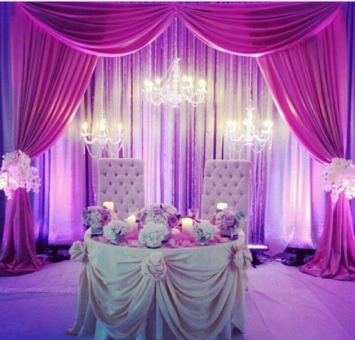 Wedding Reception Head Table Ideas: Sweetheart Table. The Center Of Attention At Your