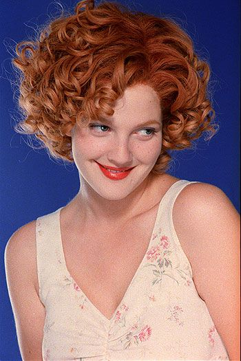 Best Haircut Drew Ever Had Drew Barrymore Hair Beautiful Curly Hair Short Hairstyles For Thick Hair