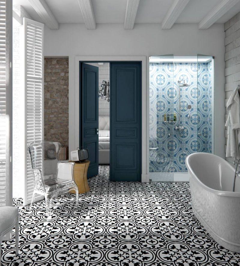 Durf te combineren met tegels. De gratis 3D badkamer ontwerpen van ...