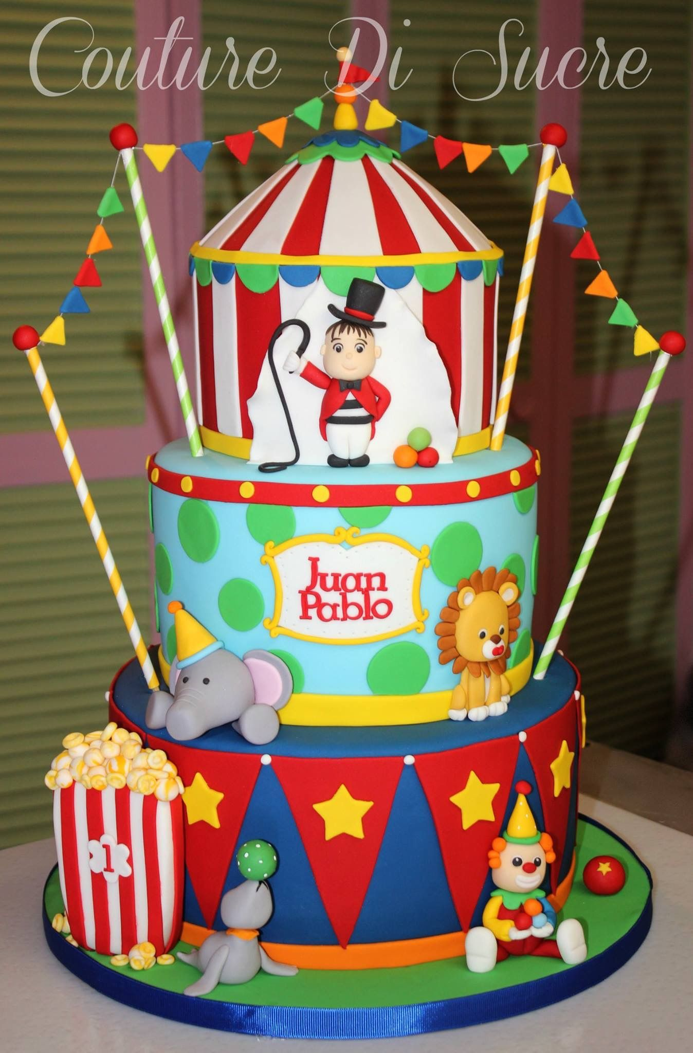birthday pin cakes decorations boys tj taylor for with party two and decor s circus amazing a activities