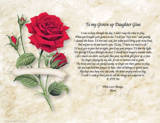 Personalized Poetry Keepsakes