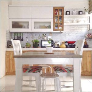 Desain rumah makan kecil mewah dan dapur minimalis for Harga kitchen set sederhana