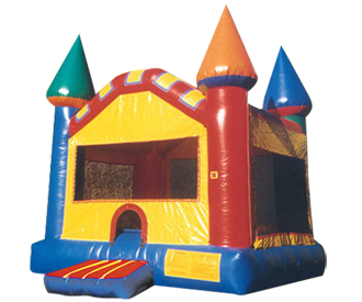 fantasy castle jumps ii little princes and princesses will rule in this brilliantly colored - Multi Castle Ideas