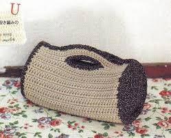 Resultado de imagen para bolsa tejida al crochet para comunion