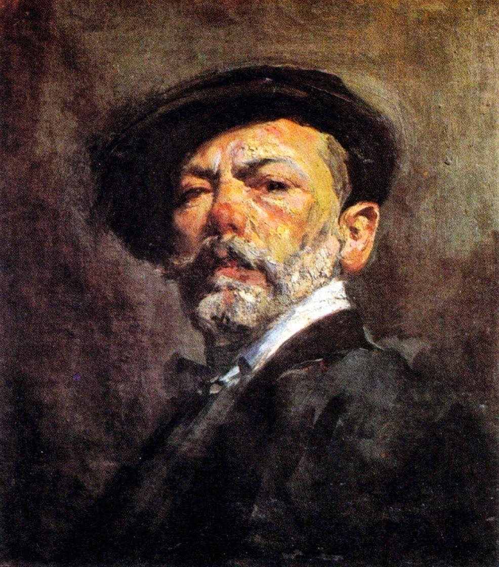 Autorretrato del pintor valenciano jos navarro llorens - Pintor valenciano ...