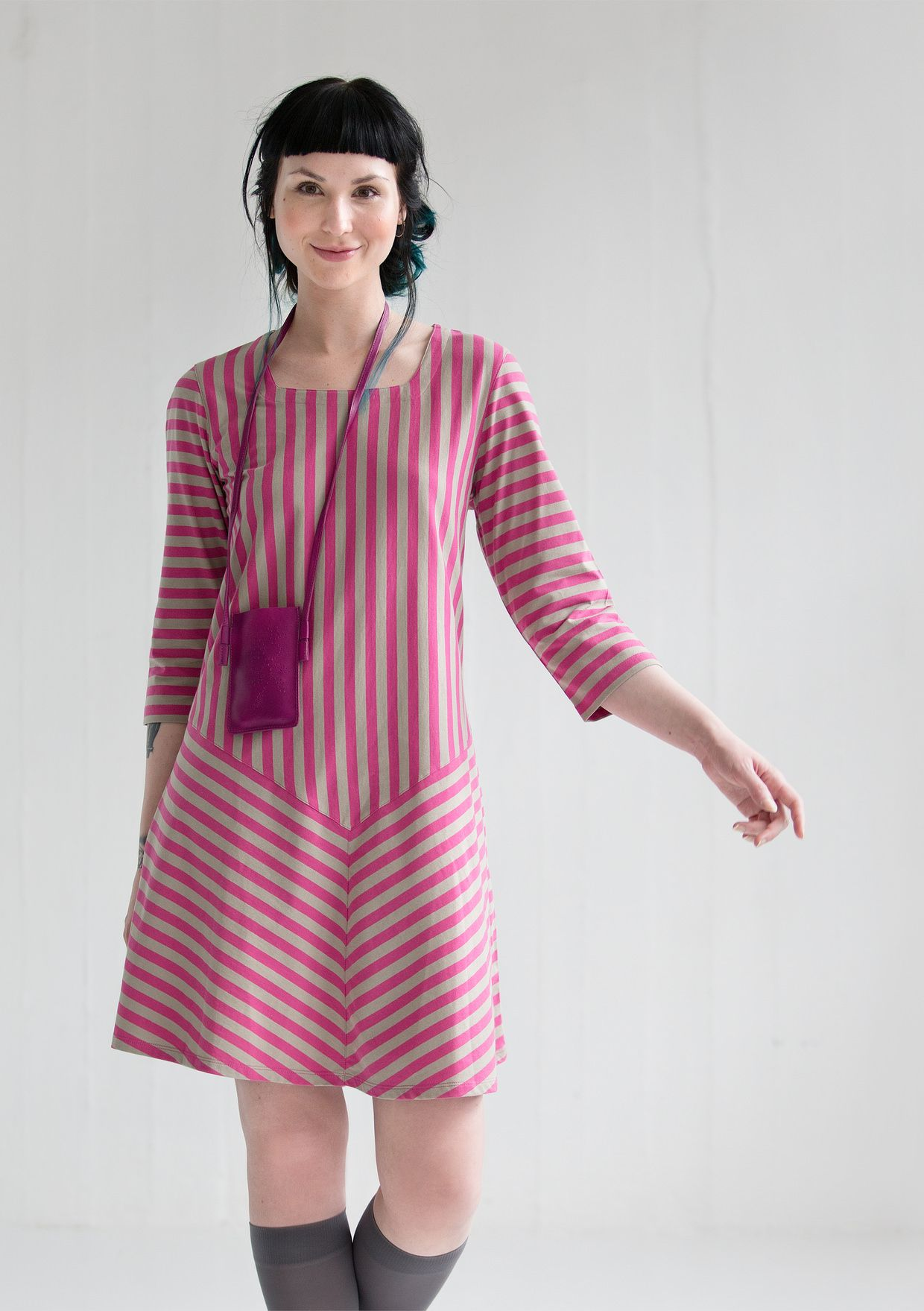 Striped Dress In Eco Cotton Skirts Amp Dresses Gudrun