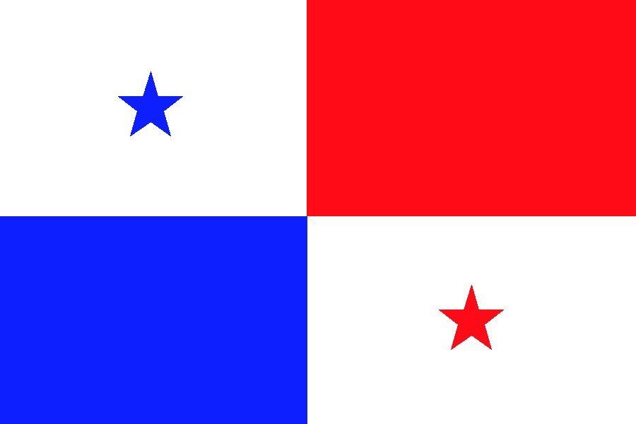 Panama Flag Ms Paint Panama Flag Countries And Flags Flag Art