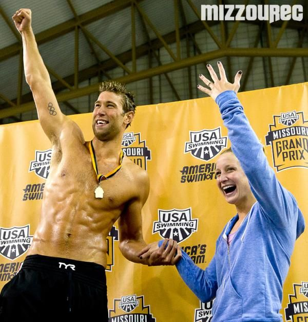 In The Spirit Of Valentine S Day Take A Look Back At Matt Grevers Epic Surprise Proposal To Fellow Swimmer And Longtime Friend Annie Chandler