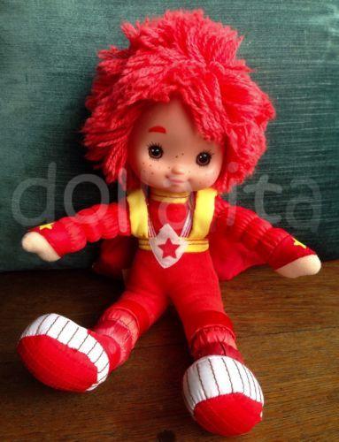 "1983 Vintage RAINBOW BRITE Red Butler 12"" Poseble Doll by Hallmark Toy Play LLC"
