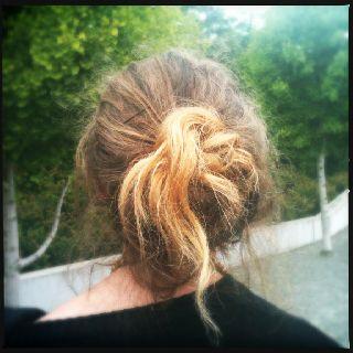 Casual city hair