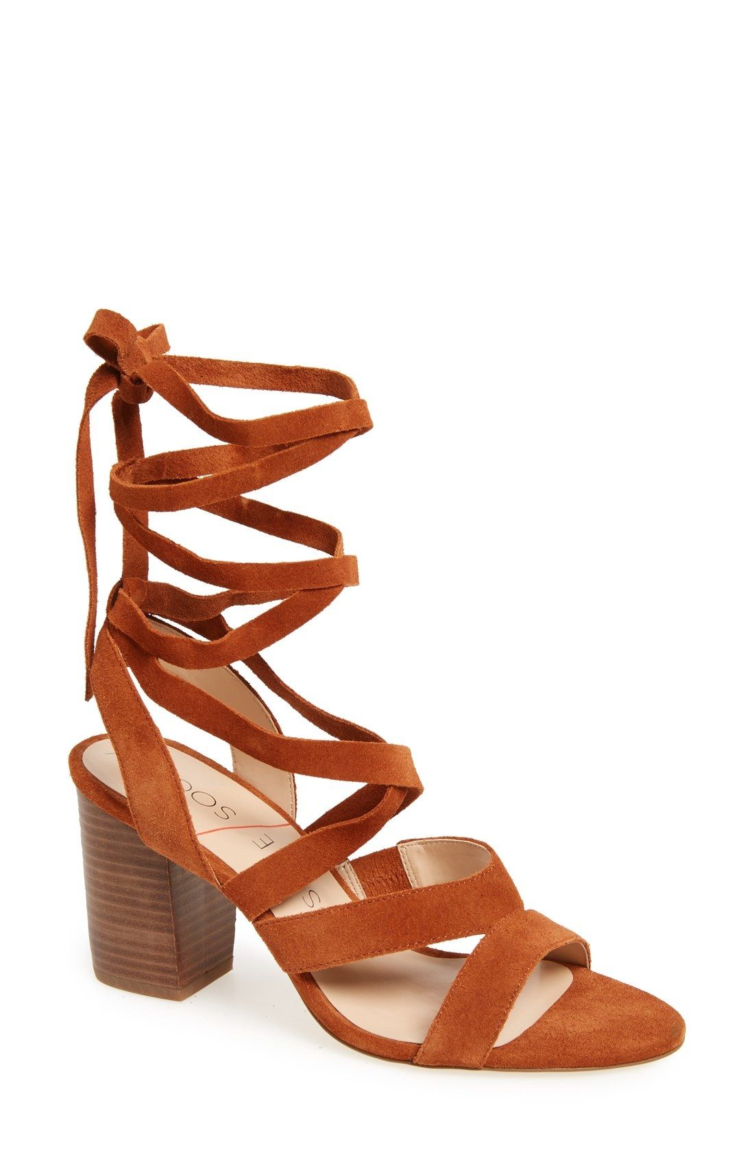 fe1c2bc5552 Sole Society  Lyla  Lace-Up Sandal (Women) available at  Nordstrom ...