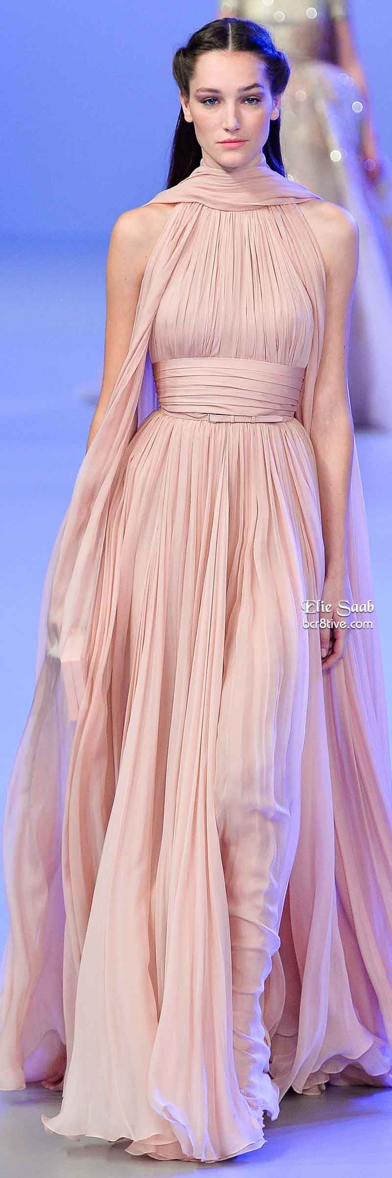 Elie Saab Spring 2014 Couture Collection | Elie saab, Modelo y ...