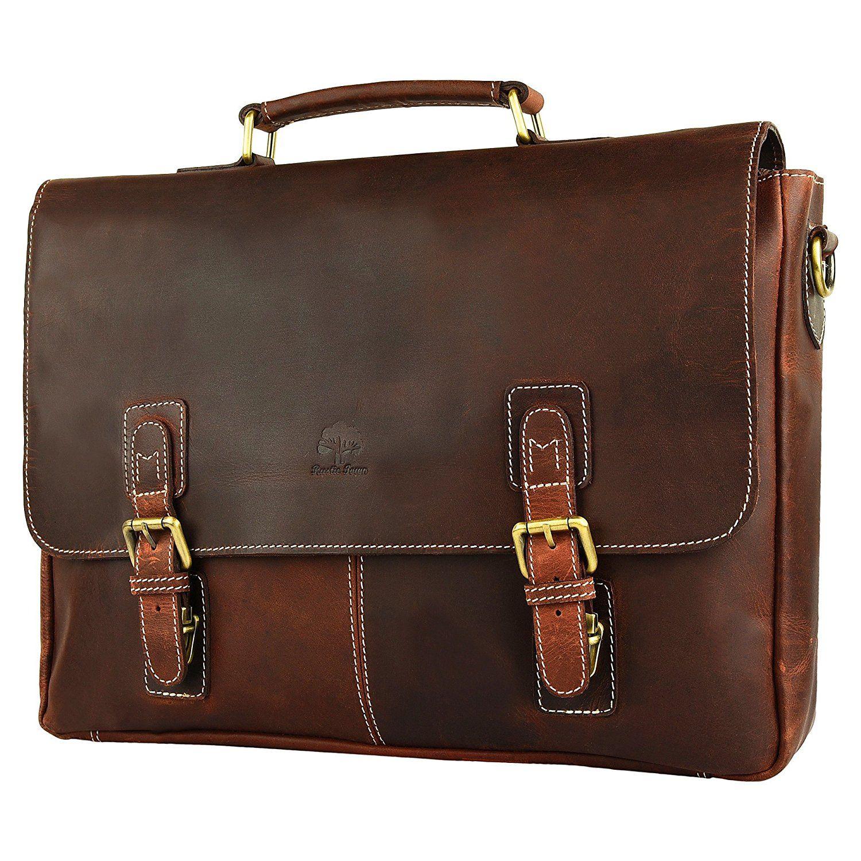 c3328068dafc  Affiliate  Amazon.com  Rustic Town 15 Inch Leather Messenger Bag Cross Body