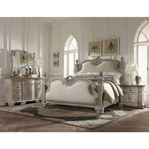 Homelegance Orleans Ii Bed In White Wash