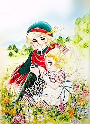 Candy y el príncipe de la colina by Yumiko Igarashi color sleeve ✤ Kyoko Misuki ||キャンディキャンディ• concept art, #manga #BD #historieta #shojo #anime #comics #cartoon from the art Yumiko Igarashi|| ✤ https://es.pinterest.com/luciana673 Solo- Lectores ^3^