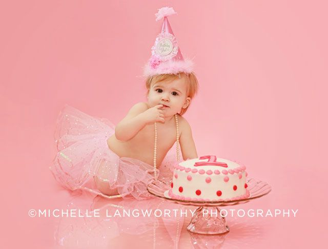1 Year Old Photo Shoot and Cake Smash Michelle Langworthy