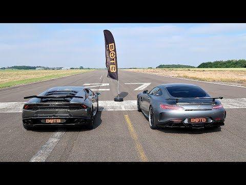 DRAG RACE! LAMBORGHINI HURACAN VS MERCEDES-AMG GT R! - YouTube #mercedesamg DRAG RACE! LAMBORGHINI HURACAN VS MERCEDES-AMG GT R! - YouTube #lamborghinihuracan