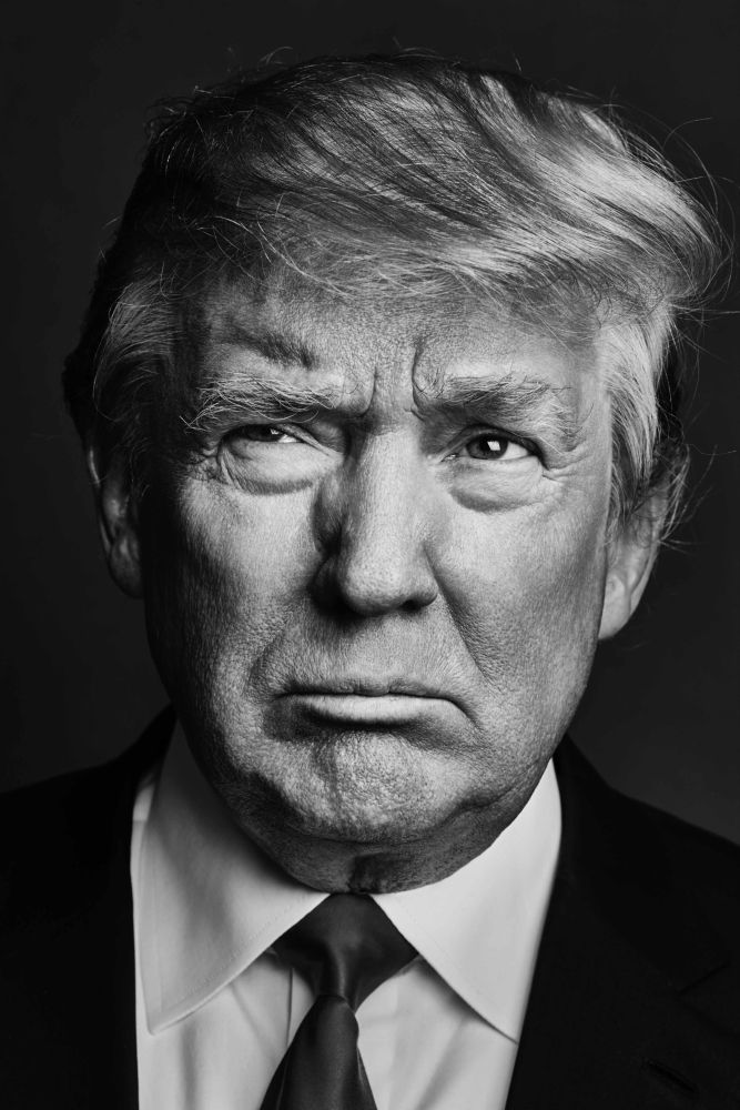 Image result for donald trump black and white photography