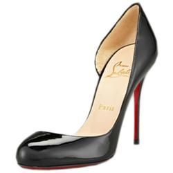8e73afc0b779 All You Need is Love And Christian Louboutin Helmour 100mm Pumps Black DVL!