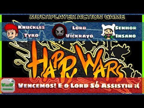 Happy Wars - O lord só ficou no áudio mesmo! | Blog Viiish Channel