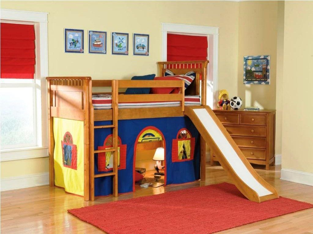 Boys loft bed with desk  Image result for bunk beds for kids with desk  Jon and JoJo New
