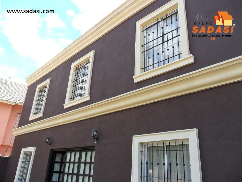 Decoracion las mejores casas de m xico las molduras - Molduras para ventanas exteriores ...