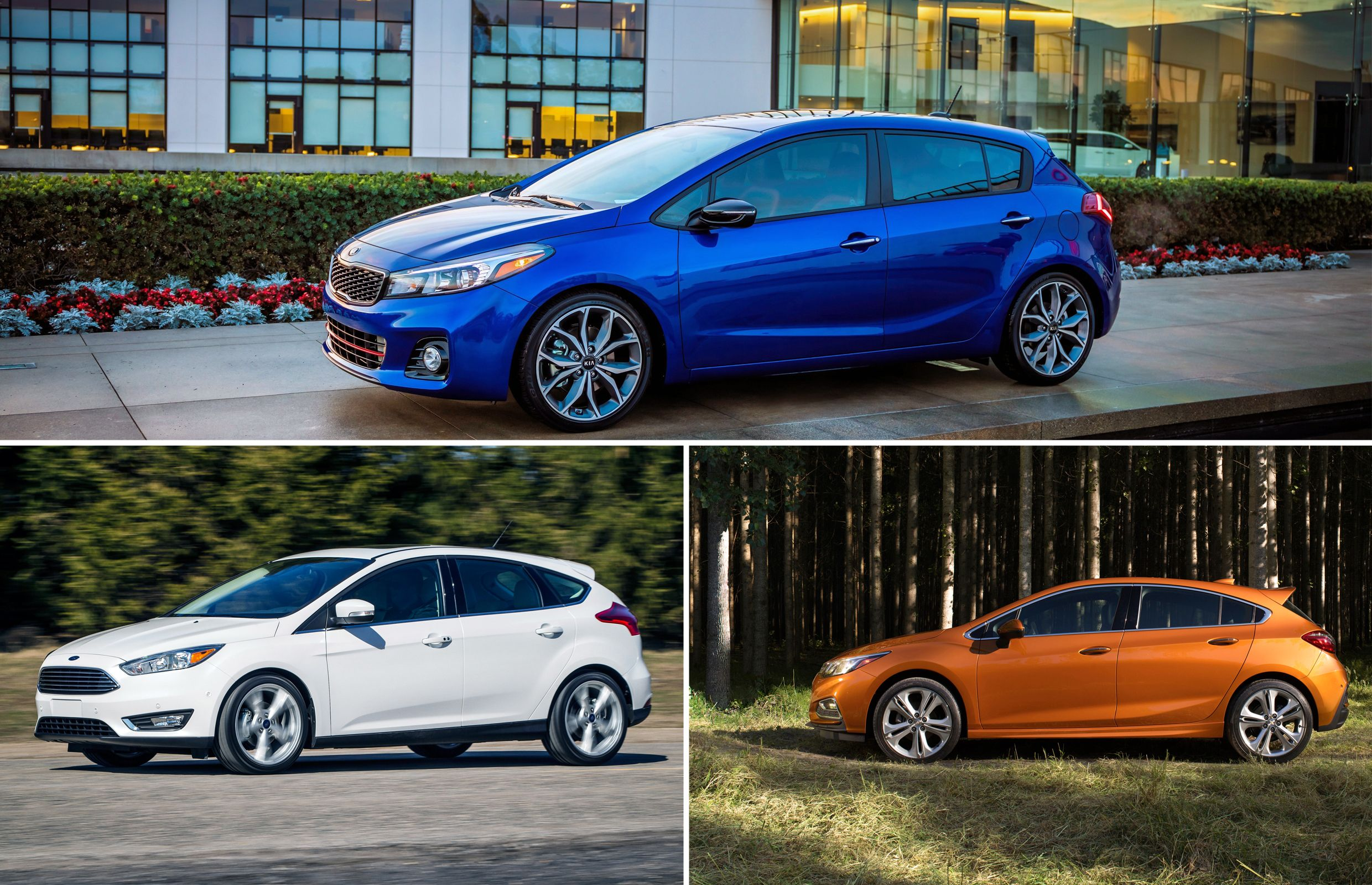 Three affordable hatchbacks loaded with features and