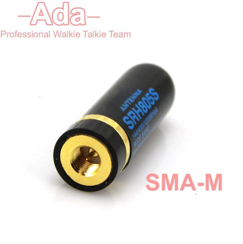 UHF+VHF For Diamond Antenna SRH805S SMA-M Male 5cm Dual Band