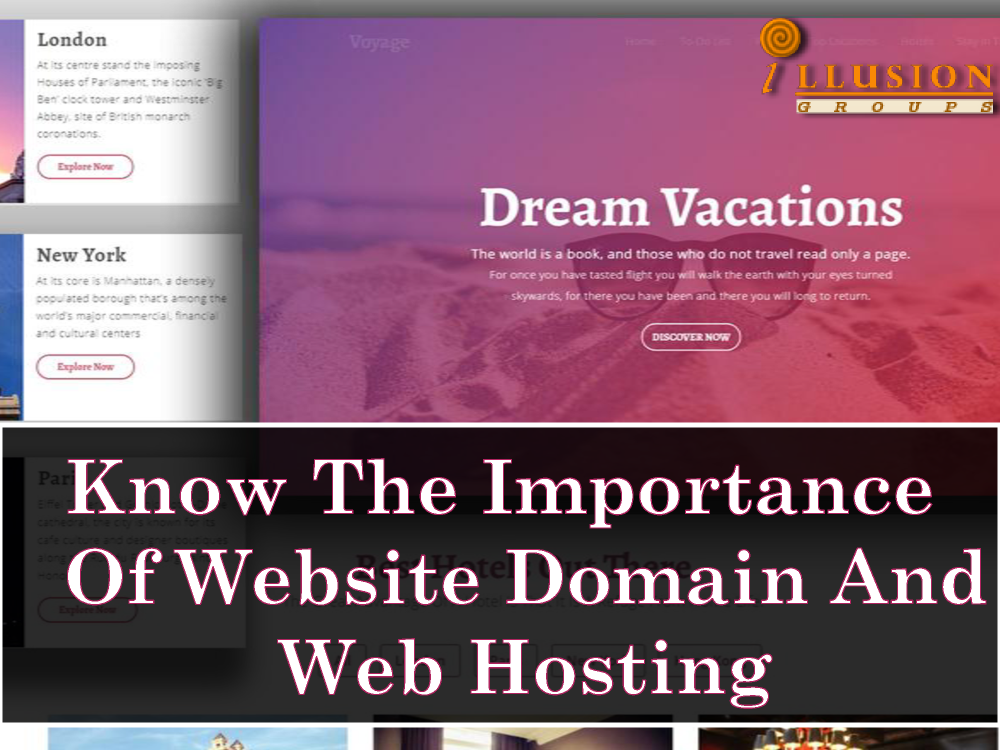 Know the Importance of Website Domain And Web Hosting
