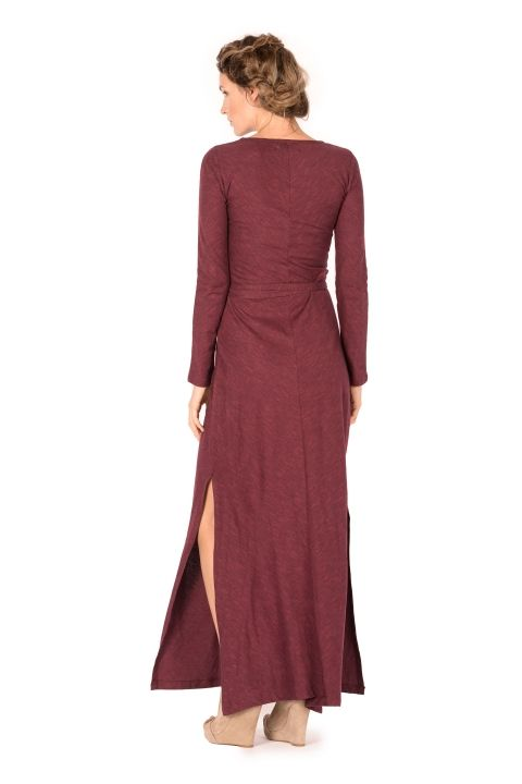 Synergy Organic Clothing Talitha Maxi Dress in Russet | Fall 2014 ...