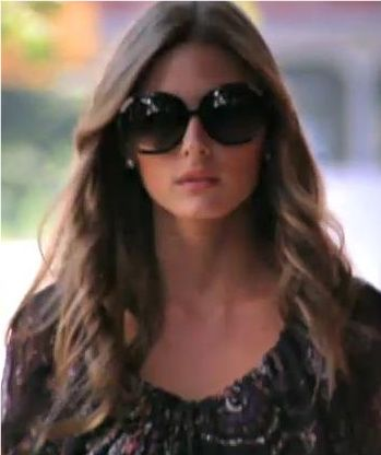 88b2bf7bd4ae Chloé Myrte oversized sunnies as worn by Olivia Palermo  3!