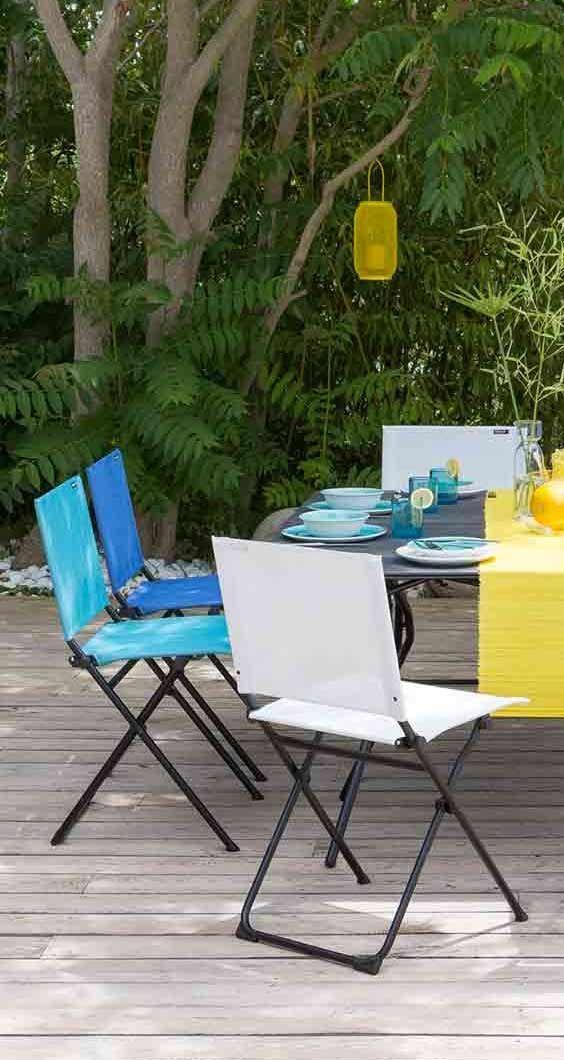 Bunte Gartenstuhle Gartenstuhle Blau Weiss Und Gelb Lafuma Anytime Gartenstuhl Mehr Gartenstuhle Und Klappstuhle Fu Gartenmobel Gartenstuhle Bunte Stuhle