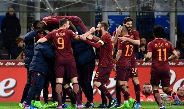 روما يواصل مطاردة As Roma Roma Pele